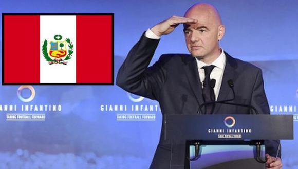 Gianni Infantino, presidente de la FIFA, visitará el Perú. (AFP)
