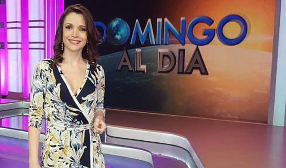La conductora Melissa Peschiera denunció por acoso a un sujeto identificado como José Andrade Beteta. (Twitter/@@MelissaPeschier)