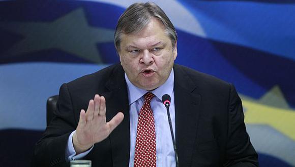 Venizelos hizo el anuncio durante una reunión con el partido socialista Pasok. (Reuters)