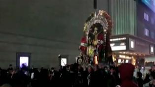 Estados Unidos: Imagen del Señor de los Milagros recorrió las calles de Nueva York