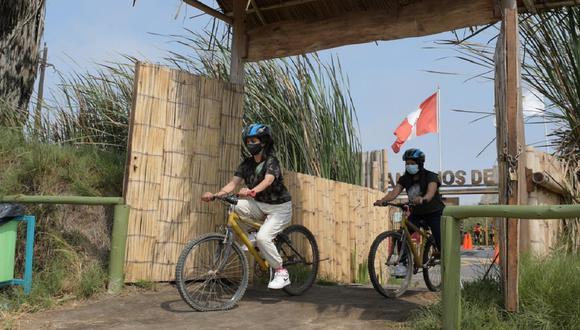 Descuento en el ticket de ingreso a ciclistas busca promover el cuidado del medio ambiente a través de la movilidad sostenible. (Foto: Municipalidad de Lima)