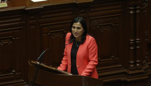 La ministra Flor Pablo Medina aseguró que la reforma política ayudará al país a fortalecer sus instituciones y fomentará la participación de la ciudadanía en la política. (Foto: GEC)