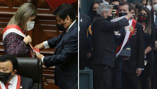 ¿Por qué Maria del Carmen Alva y Francisco Sagasti usaron la banda presidencial al mismo tiempo?