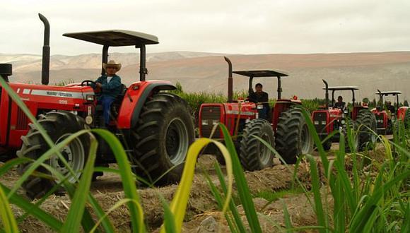 La agroindustria es la solución a la pobreza en el campo, según Benavides. (USI)