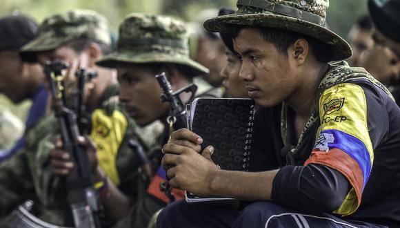 Gobierno de Colombia rechazó un pedido de extradición de un miembro de las FARC por encontrarse en una lista de amnistía de la guerrilla (AFP).