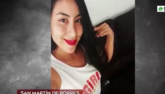 Mujer resultó herida en la pierna derecha por bala perdida cuando practicaba ejercicios. (Captura: América Noticias)