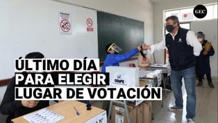 ONPE: 3 de enero se vence fecha de elección de lugar de sufragio