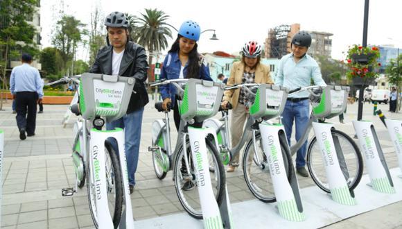 Ya existen iniciativas en Miraflores y San Isidro los servicioas que insertará  estaciones de bicicletas públicas cerca al Metropolitano y al Corredor azul. (Difusión)