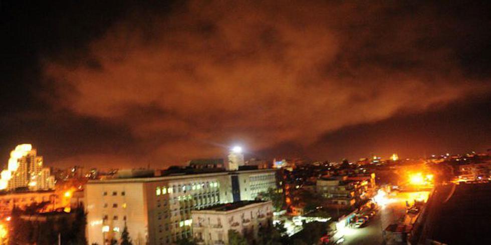 Varias fuertes explosiones se escucharon en la capital de Siria, informó una corresponsal de la AFP en Damasco. (AFP)