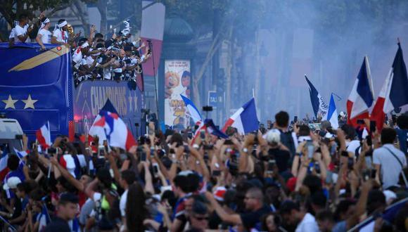 La selección francesa hará un importante donativo a los hospitales de París. (Foto: AFP)