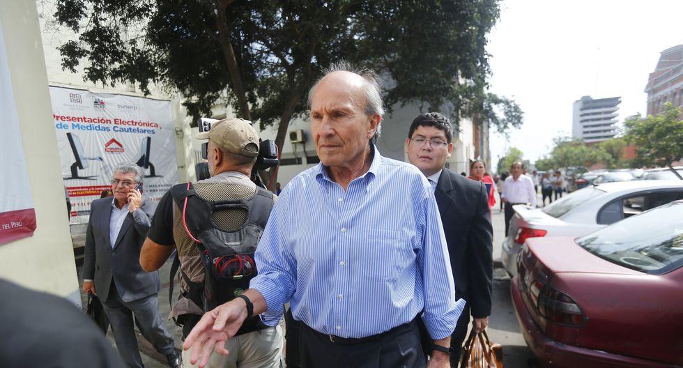 Augusto Bedoya fue ministro de Transportes durante el gobierno de Alberto Fujimori. (Luis Centurión)