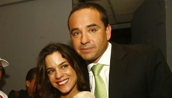Tres meses duró el romance de Roberto Martínez y Vanessa Terkes. (José Caja/USI)