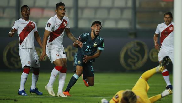 Perú perdió por 2-0 ante Argentina por la jornada 4 de las Eliminatorias rumbo a Qatar 2022. (Foto: Agencias)