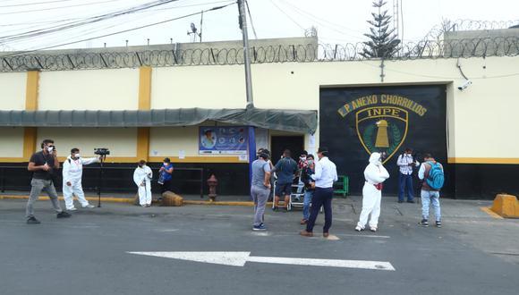 Defensoría pide al INPE velar por seguridad de reclusas del penal de Chorrrillos y sus hijos. (Foto: Alessandro Currarino/GEC)