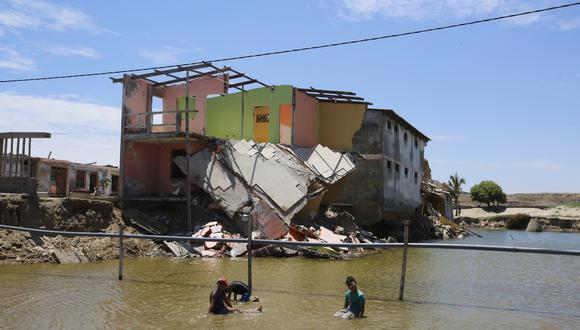 El Niño costero dejó cientos de familias damnificadas en Lima y otras regiones del país. (Foto: USI)