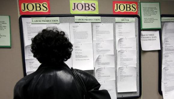 Desempleo afecta al mundo. (Bloomberg News)
