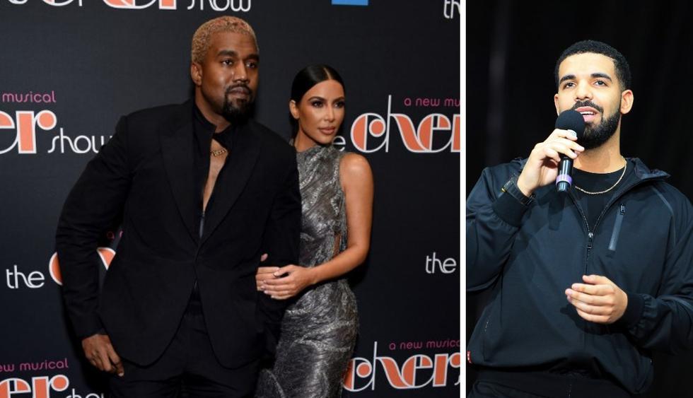 Kim Kardashian defendió a Kanye West tras pelea con Drake en Twitter (Foto: AFP)