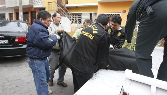 El cadáver del exoficial fue trasladado a la Morgue Central de Lima. (USI/Referencial)