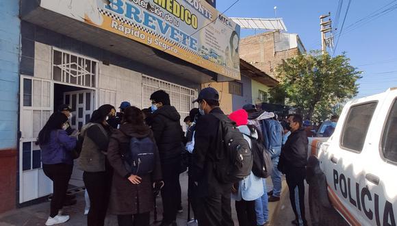 Asimismo, participaron 250 de la región policial de Junín (VI MACREPOL JUNÍN) y 15 efectivos de la DIRNOS-DIRTTSV de la PNP.