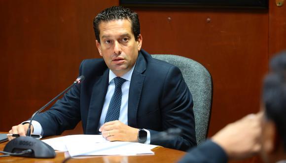 """Torres consideró que el Parlamento """"no pondrá de lado"""" el proyecto de reforma constitucional presentado por el Ejecutivo para adelantar elecciones.(Foto: Congreso)"""