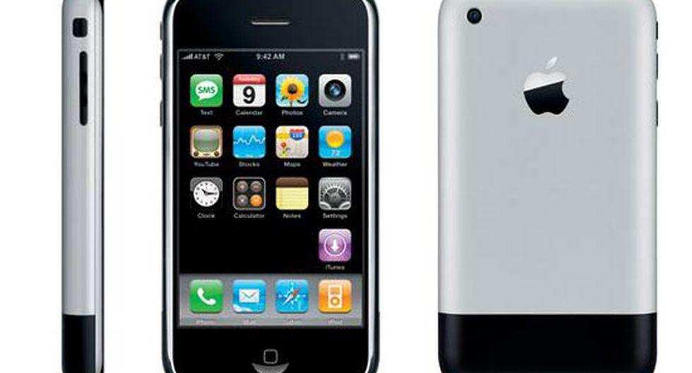 iPhone Primera Generación (2007)