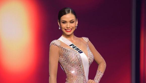 El desfile de la peruana Janick Maceta fue destacado por la organización Miss Universo 2021. (Foto: EFE/ Benjamin Askinas / Miss Universe Org)