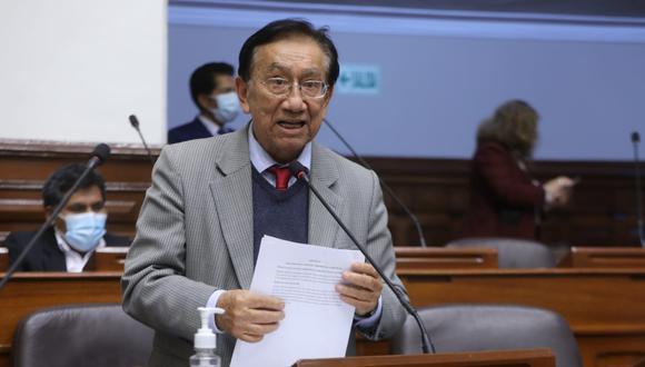 José María Balcázar (Perú Libre) es el presidente de la Comisión Especial encargada del proceso de selección de nuevos magistrados del TC. (Foto: Congreso)