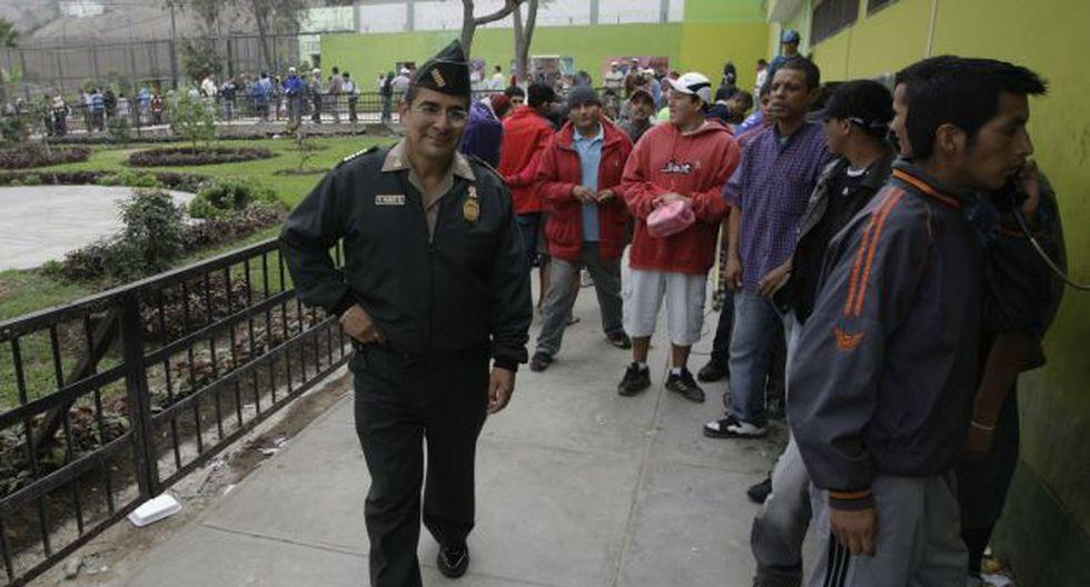 Tomás Garay impuso orden en el penal más peligroso del país. (Peru21)