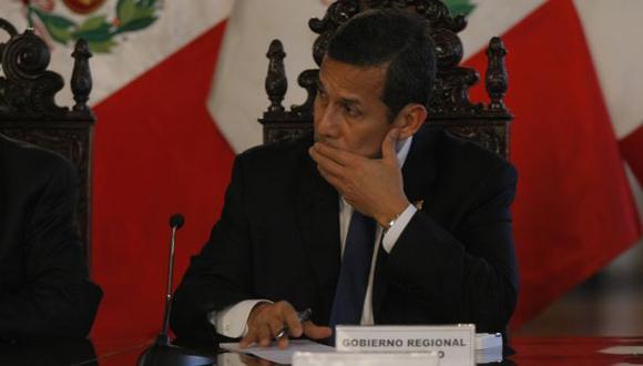 PROMESA ROTA. Como candidato, Ollanta Humala ofreció a los mineros ilegales de Madre de Dios su formalización. (Nancy Dueñas)