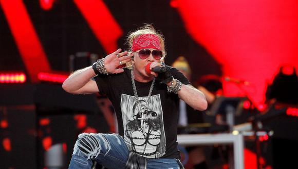 Guns N' Roses prepara todo para iniciar gira en Latinoamericana. (Foto: AFP)
