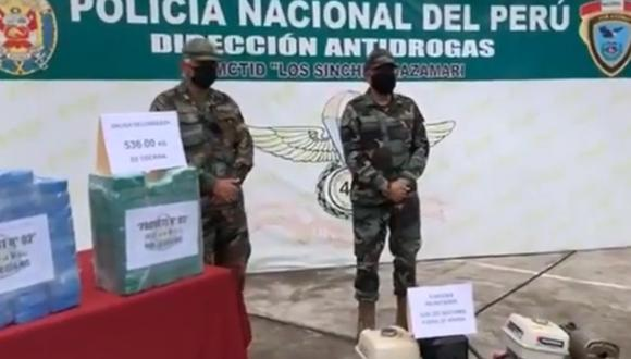 Cusco: decomisan una tonelada de cocaína que iba a ser enviada a Bolivia (Foto: Juan Sequeiros)
