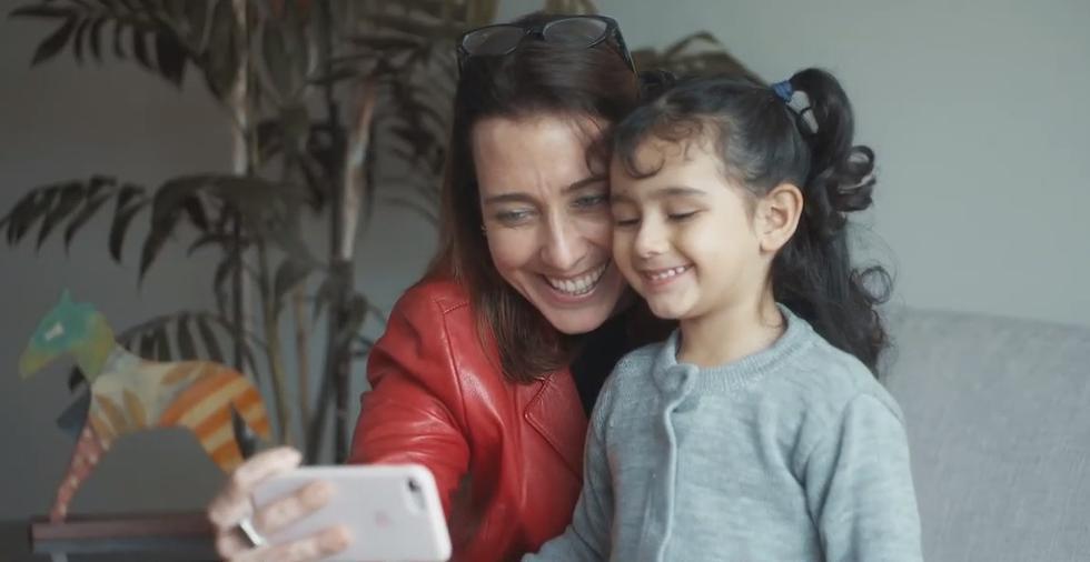 Periodistas se sumaron a campaña de Unicef. (Captura)