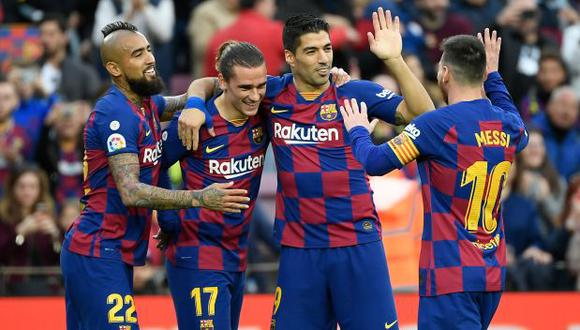 Barcelona vs. Valladolid: chocan por la jornada 36 de LaLiga Santander. (Foto: AFP)