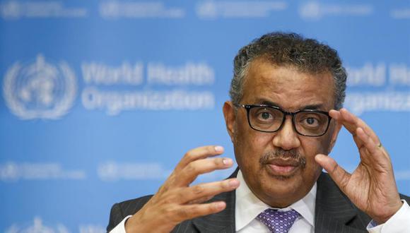 El director general de la Organización Mundial de la Salud (OMS), Tedros Adhanom Ghebreyesus. (EFE/ Salvatore Di Nolfi/Archivo)