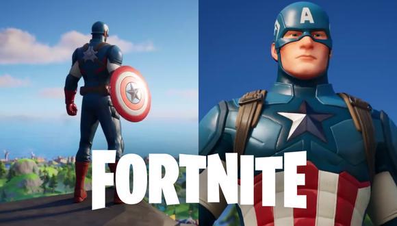 Capitán América llega a Fortnite para celebrar el Día de la Independencia de Estados Unidos de la forma más patriótica posible. (Foto: Fortnite en YouTube)