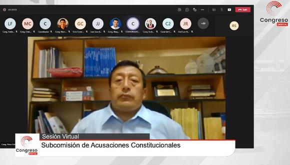 La Subcomisión se declaró en sesión permanente hasta el 26 de julio. (Captura)