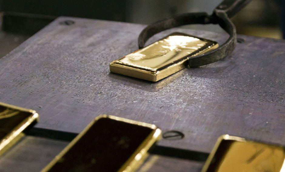 Oro: La producción se reducirá este año. (Bloomberg)
