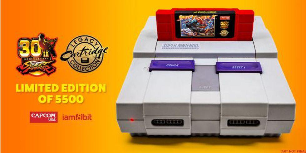Street Fighter II regresa (iam8bit)