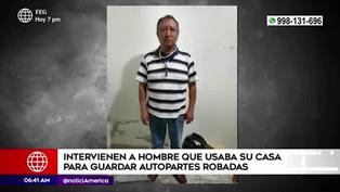 VES: detienen a sujeto que guardaba autopartes robadas en su domicilio