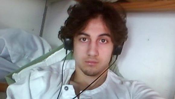 Dzhokhar Tsarnaev, condenado a muerte por atentado en Boston de 2013. (AFP)