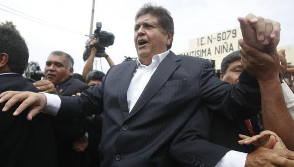 PARA RATO. Los defensores de García aducen que tratan de inhabilitarlo para que no sea candidato. (Mario Zapata)