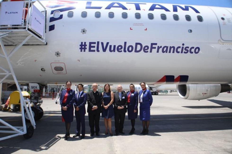 La visita del papa Francisco a Chile incluye su llegada a ciudades de Iquique, Santiago y Temuco. (Andina)