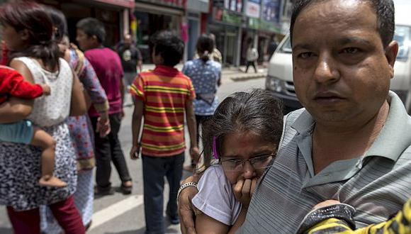 Nepal volvió a ser sacudida por terremoto este martes. (Reuters)