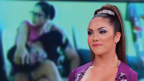 Karla Tarazona muestra cariñosa foto con Christian Domínguez.