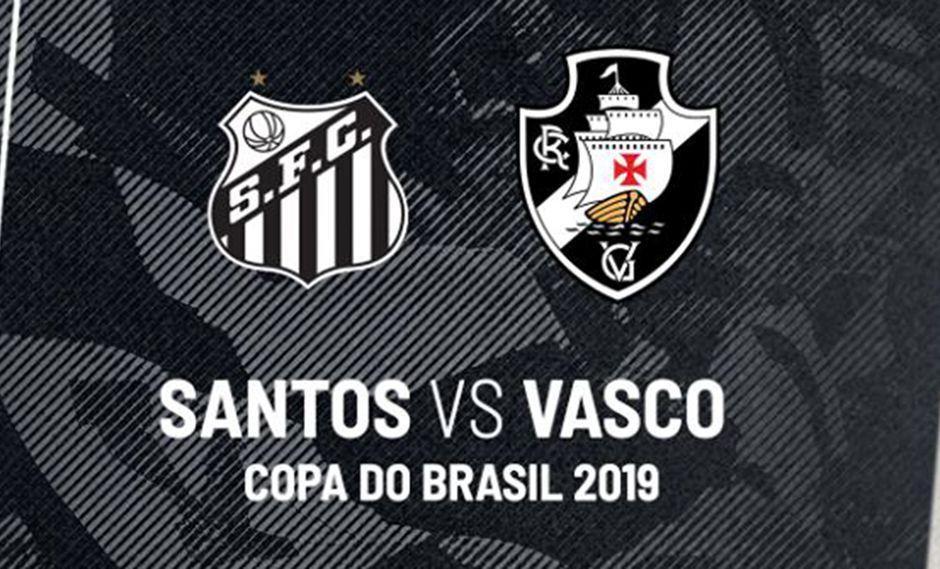 Santos vs. Vasco Da Gama EN VIVO por Copa de Brasil vía ...