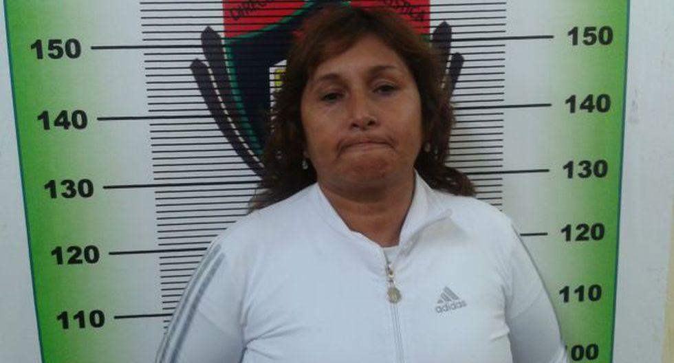 Mamá de 'Gringasha' fue intervenida junto a su hija el último lunes en Trujillo. (Alan Benites)