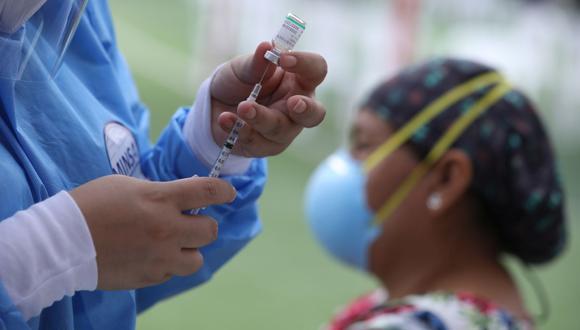 Presidente Sagasti afirmó que gobierno de transición y emergencia cuenta con más de 60 millones de dosis de vacunas aseguradas para el presente año. (Foto: Britanie Arroyo/ GEC)
