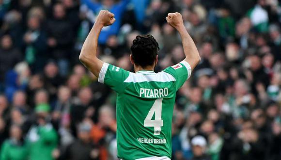 La camiseta de Claudio Pizarro fue la más vendida en Werder Bremen. (Foto: AFP)