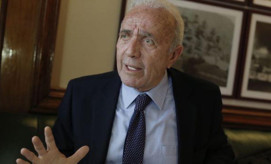 """""""Planteada la censura por parte de la mayoría de Fuerza Popular, creo que la cuestión de confianza es algo que el Gobierno tendrá que evaluar"""", dijo Lombardi. (Perú21)"""