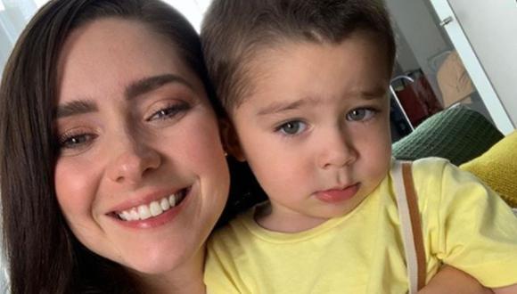 Diego es el hijo de Ariadne Díaz y la razón por la que se alejó de las telenovelas (Foto: Ariadne Díaz / Instagram)